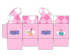 Boite coeur Peppa Pig Cajas con Cierre en Forma de Corazón para Imprimir Gratis.