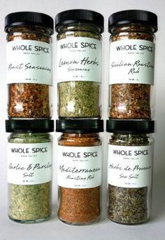 Holiday Roasting Spice Set - http://spicegrinder.biz/holiday-roasting-spice-set/