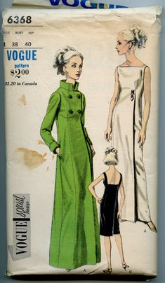 1960s Vogue Special Design 6368 Vintage Sewing by GreyDogVintage, $60.00