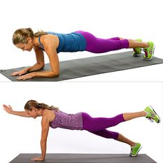 The Only Move You Need to Tone Your Entire Body - Short on time? Don't skip the strength-training session — get playful with the plank! By doing multitasking variations of this basic move, you can target your arms, back, core, legs, and booty to chisel out a stronger, more toned you.