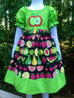 Made by levonadanielle back-to-school dress https://www.etsy.com/shop/LevonaDanielle