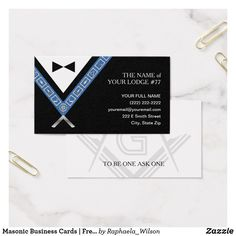 Masonic business card template rustic parchment custom masonic masonic business cards freemason officer jewels colourmoves