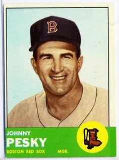 R.I.P. Johnny Pesky.  A Great Red Sox.