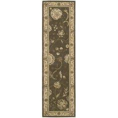 Hand-tufted Nourison 2000 Kashan Grey Rug (