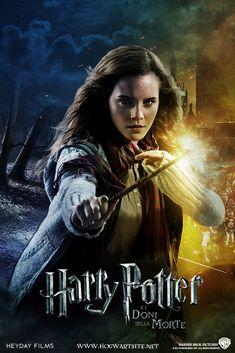Hermione Granger - Deathly Hallows Extended by HogwartSite on DeviantArt Harry Potter Hermione, Hermione Granger, Harry Potter Poster, Harry Potter Artwork, Harry Potter Pictures, Harry Potter Love, Harry Potter World, Harry Potter Portraits, Imprimibles Harry Potter