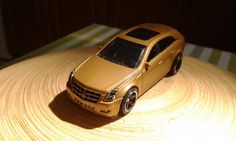 MotionRide - CTS [LSDJ Game Boy Chiptune] with stop motion Matchbox Cadillac CTS Wagon 2010!