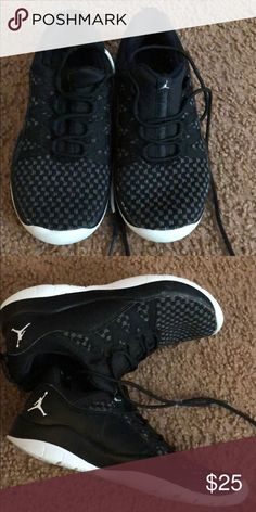 ca5fe73b18fdc8 Shop Kids  Jordan Black size Sneakers at a discounted price at Poshmark.  Description  Jordan s for boys