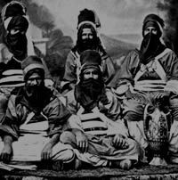19th century Tuareg group - page about Berber tribes in Libya