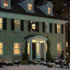 Dual Color Christmas Light Projector - Waterproof Only
