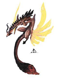 Dragon Concept by ConceptualMachina on DeviantArt