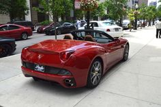 2011 Ferrari California / ROSSO MUGELLO / BEIGE