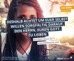 Bibelverse nachlesen auf BibleServer.com