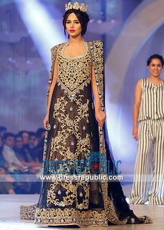 Tabassum Mughal Bridal Dresses Collection Bridal Couture Week 2013, 2014 by www.dressrepublic.com