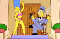 Homero & Marge Simpson