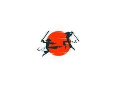 Samurai Battle designed by Boris Rabasovic. Connect with them on Dribbble; Samurai Artwork, Akita, Battle, Photoshop, Illustrations, Stickers, Logos, Design, Samurai Art