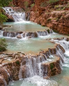 Beaver Falls, Grand Canyon National Park, Arizona