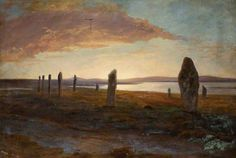 Standing Stones in Orkney unknown artist