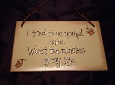 Humourous hanging plaque handpainted with your by CoveCalligraphy, £8.50