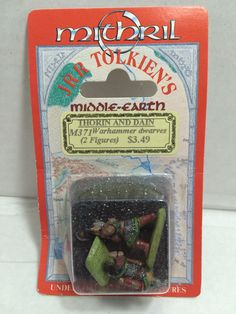 (TAS010694) - Mitchell JRR Tolkiens Middle-Earth - Thorin and Dain Warhammer Fig