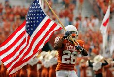 The USA and Texas Football... perfect combination.