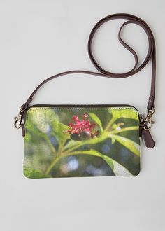 VIDA Leather Statement Clutch - Vintage Monarch Leather by VIDA