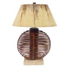 Palecek Ikebana Sphere Lamp PK-2982-49 $547.80 7Wx19Dx32.5 H