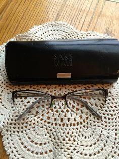 "Saks Fifth Avenue Prescription Eye Glasses ""They are Sunglass and Progressive Lenses too"""