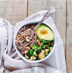 The right ingredients: Good ingredients to add to your shopping list are avocados, nuts, chicken and quinoa