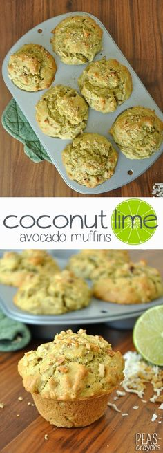 Cut the butter in half by using creamy whipped avocado to take your muffin game to the next level!