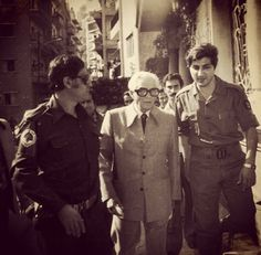 Sheick Bachir Gemayel & President Camille Chamoun