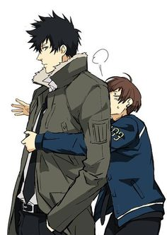 Omg i love these two so much <3 (Psycho-Pass)