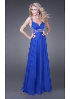 A-Line Straps Floor Length Chiffon Prom Dress - Prom Dresses - Special Occasion Dresses Royal Blue Prom Dresses, Prom Dresses For Sale, Prom Dresses Online, Ball Dresses, Homecoming Dresses, Evening Dresses, Bridesmaid Dresses, Formal Dresses, Dress Prom