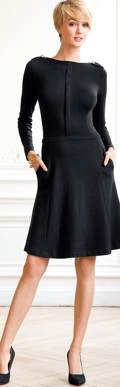 Article about the classic short LBD little black dress - some of the ideas are from my 82 year old mother - http://www.boomerinas.com/2014/08/06/how-to-wear-an-lbd-3-ways-to-style-a-little-black-dress-or-long-black-dress/