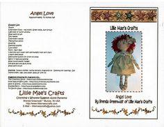 Free Raggedy Doll Pattern Angel Love