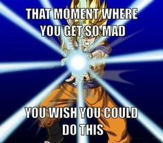 Don't you wish you had Saiyan powers?