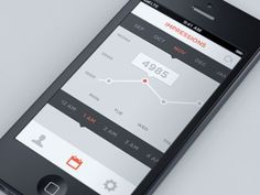 Interactive Graph #ui #ux #gui #iphone #app #application #interface #design #userinterface #appdesign #dribbble #behance #inspiration #mobile