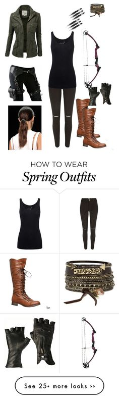 """My outfit if I was in maze runner"" by lopezfamily-1 on Polyvore featuring River Island, Juvia, J.TOMSON and BKE"