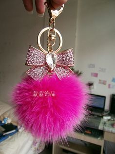 bag shelf on sale at reasonable prices, buy Rhinestone bow keychain fox fur bag zircon male women's car keychain from mobile site on Aliexpress Now! Fluffy Phone Cases, Girly Phone Cases, Cute Keychain, Keychains, Cute Little Baby Girl, Fur Bag, Rhinestone Bow, Pink Love, Heart Jewelry