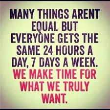 everyone has the same amount of time quote - Google Search