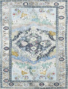 Gorgeous blue Persian rug