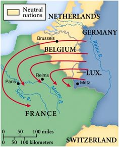 The Schlieffen plan was planed out by Alfred Von Schlieffen to defeat and overcome France and Russia.