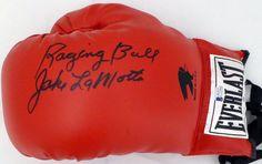 faff3172b73f8 Jake+LaMotta+Signed+Autographed+Everlast+Boxing+Glove+Beckett Everlast