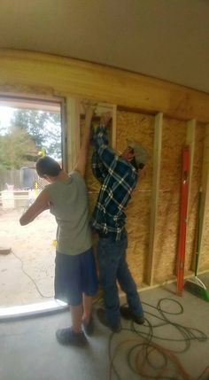 framing for setting doors