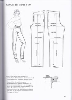 Patternmaking by Pennie Annie - issuu Clothing Patterns, Sewing Patterns, Modelista, Make Your Own Clothes, Pattern Drafting, Love Sewing, Pants Pattern, Sewing Techniques, Sewing Clothes