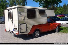 VW Golf Mk1 Caddy Camper by retromotoring, via Flickr