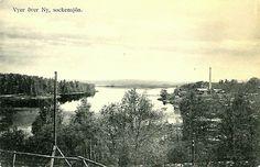 Värmland Arvika kommun vy över Nysockensjön ca 1915