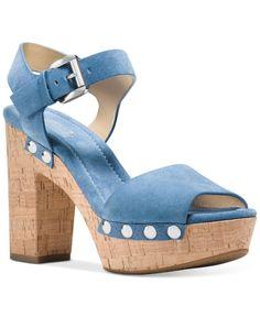 a5b97a0471d MICHAEL Michael Kors Hayden Platform Sandals   Reviews - Sandals   Flip  Flops - Shoes - Macy s
