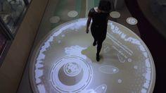 Living cell - interactive installation - Short docu