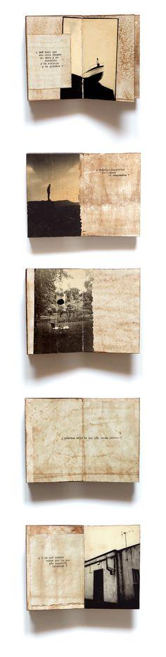 * tratado de incertezas · unique #artist #BOOK · 2020 · Juanan Requena Journal Pages, Journals, Paul Theroux, Coffee Staining, Altered Books, Collages, Book Art, Doodles, Unique