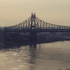 Building bridges connections that's what life is... A bridge from #nyc #rooseveltisland #friendship #architecture #nycbridges by renatopagani